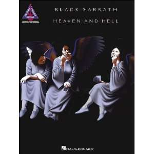 Hal Leonard Black Sabbath   Heaven And Hell Tab Book