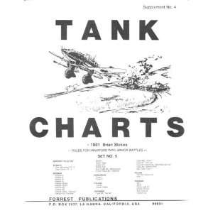 Tank Charts (Complete Set of 5 Volumes) Brian Stokes Books