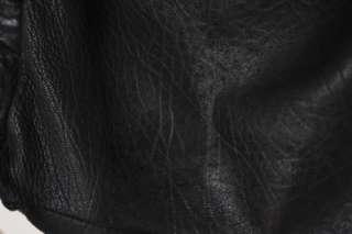 ISABEL MARANT black lambskin leather bag