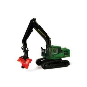 John Deere Logging Toy 1/50th 2954D Harvester TBE45029