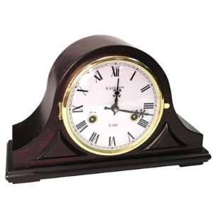 31 DAY Genuine Wood Wind up Mantle Clock: Home & Kitchen