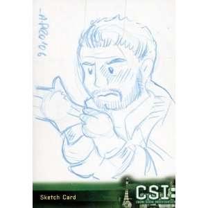 CSI Crime Scene Investigation Series 3   Amy Pronovost Sketch Card of