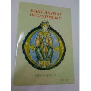 Saint Anselm of Canterbury (9780851838724) Brian Davies Books