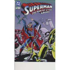 Superman The Man of Steel Gallery #1 Mike Carlin Books