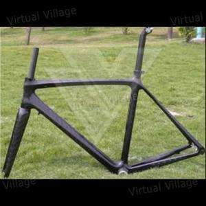 3k Full Carbon Racing Road Bike Frame Front Fork 56cm