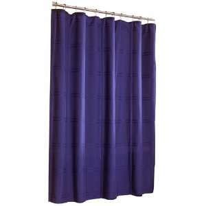 allen + roth Howell Navy Shower Curtain  Home & Kitchen