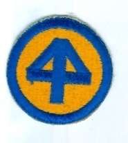 US ARMY PATCH   44TH INFANTRY DIVISION