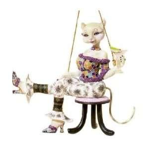 Alley Cats Margaret Le Van Christmas Ornament Lushus