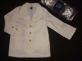 Baby Gap boys SPRING thin cord blazer jacket 4yr 4T NWT