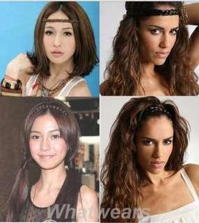 Bohemian Cute Girls Fashion Hair Extension Braid 2 Colors TB407