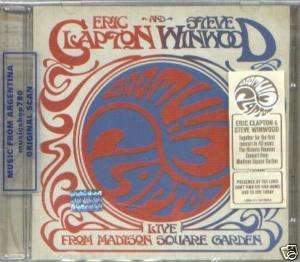 ERIC CLAPTON STEVE WINWOOD LIVE MADISON SQUARE 2 CD SET