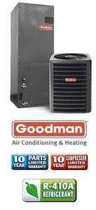 Ton 14 Seer Goodman Heat Pump System   GSZ130181   AVPTC18301