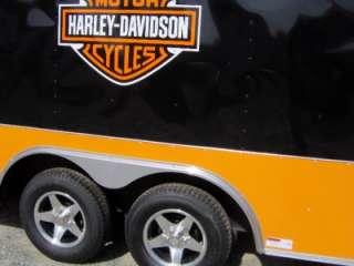 5x16 enclosed motorcycle cargo car hauler trailer Harley Davidson DC