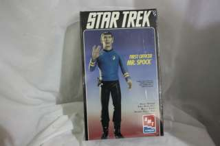 BRAND NEW 1995 Star Trek Mr. Spock AMT Model Kit FACTORY SEALED
