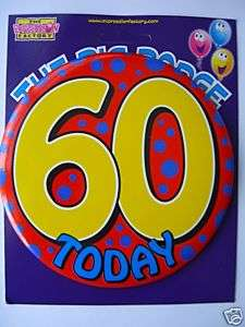 Happy 60th Birthday   64 Party Napkins {Explosion}