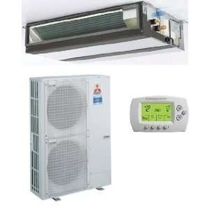 Btu/h 13.80 Seer Mitsubishi Single Zone Mini Split Air Conditioning
