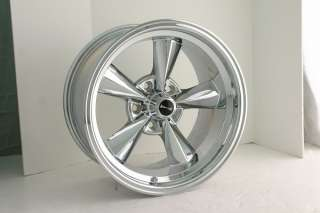 RIDLER RACING HOTROD 15X8 CHROME FORD CHEVY WHEELS