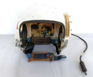 US Navy APH 6C Jet Pilots Helmet Original Reflective Tape MIL H 22995A