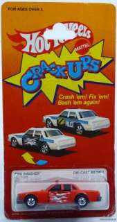 HOT WHEELS CRACK UPS FIRE SMASHER #7068 NRFP MINT 1984