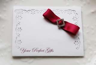 50 SQUARE Rhinestone Crystal Wedding Invitation Buckles