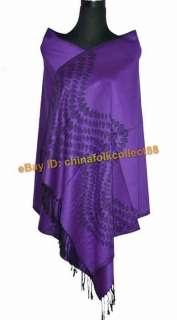 SALE Women 100% Pashmina Cashmere Shawl Wraps Scarf