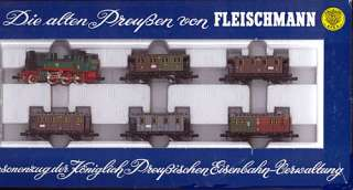 Fleischmann N 7882; Prussian Freight Car set ERA I