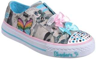 Girl Skechers Twinkle Toes Shuffles Lil Rebel Kids Casuals Girls