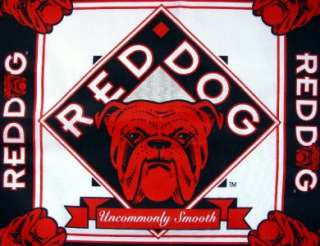 Miller Plank Road Brewery Red Dog Smooth Beer Bandana