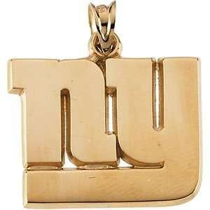 NY New York Giants NFL Football Team Logo Pendant in 14k