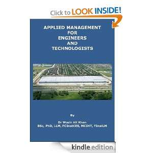 Engineers and Technologists: Wazir (Dr) Khan:  Kindle Store
