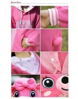 POP STAR SHINee SAZAC Kigurumi Animal Character Costume Pajama Pink