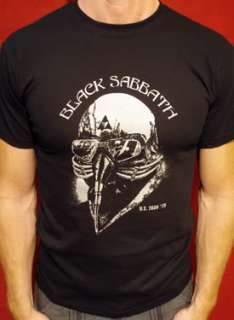 Black Sabbath t shirt ozzy vintage metal rock tour 1978