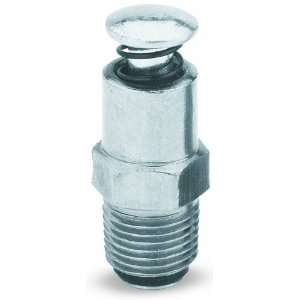 Lumax LX 1422 Silver 1/8 NPT Male Air Bleeder Valve