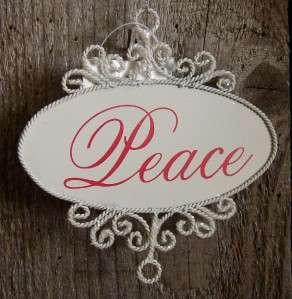 Holiday Words Peace Joy Love Happy Holidays Christmas