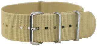 22MM NATO Style MILITARY WATCH BAND SOLID Strap G 10 FITS SEIKO
