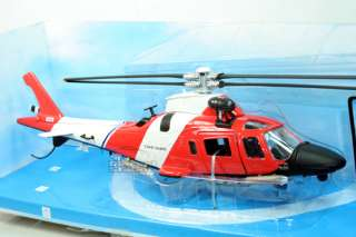 Helicopter US Coast Guard AGUSTA A109 DIE CAST 1/43