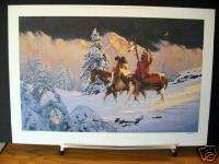 Ren Horses Western Native American Art Limited Edition Print