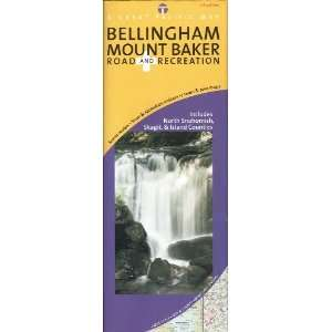 Bellingham/ Mount Baker, Washington Road & Recreation Map, 5th Edition