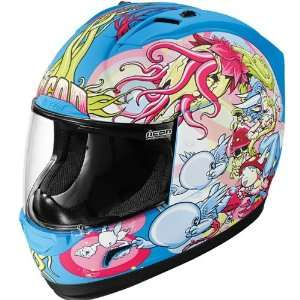 Icon Enchanted Mens Alliance On Road Motorcycle Helmet
