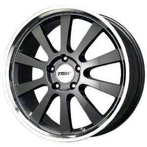 TSW Alloy Wheels Londrina Gunmetal Wheel with Machined Lip