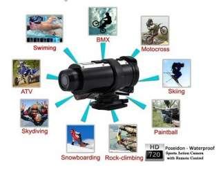 HD Sport Action Video Camera DVR Helmet Motorcycle Bike Sports Cam DV