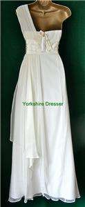 MONSOON Ivory Silk SUMMERSO Long Wedding Bridal Dress