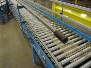 BDLR) Live Roller Accumulation Conveyor w/ 30* Curve (Hytrol)