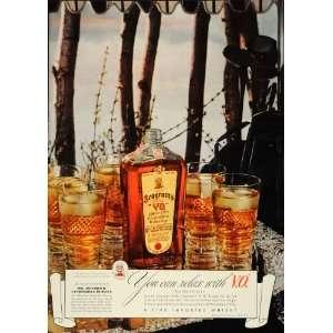 Canadian Whisky Hendrick Duryea   Original Print Ad