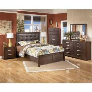 King Bedroom Sets on Ashley Furniture Aleydis Panel Bedroom Set  King  B165 58 56 97