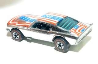 1974 Mattel Hot Wheels MUSTANG STOCKER Redline Red Line
