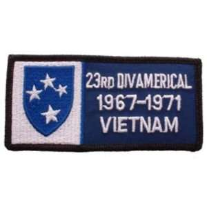 U.S. Army 23rd Infantry Division 1967 1971 Vietnam Patch 1