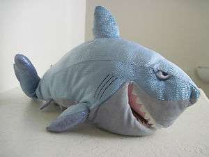 21  FINDING NEMO BRUCE Shark HAND PUPPET Talking Plush
