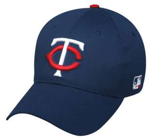 Baseball cap navy blue hat (MINNESOTA TWINS) youth/adult size