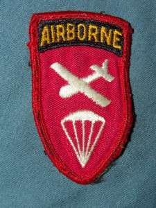 PATCH US ARMY AIRBORNE COMMAND EARLY SPECIAL FORCES UNUSUAL TWILL RARE